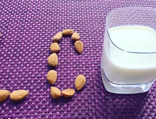 Mandel…Milch. Eine köstliche Alternative.